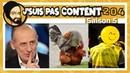 J'SUIS PAS CONTENT ! 204 : Apathie fatigué, Gallinacés déters Macron excusé ! [Feat. Code Rno]