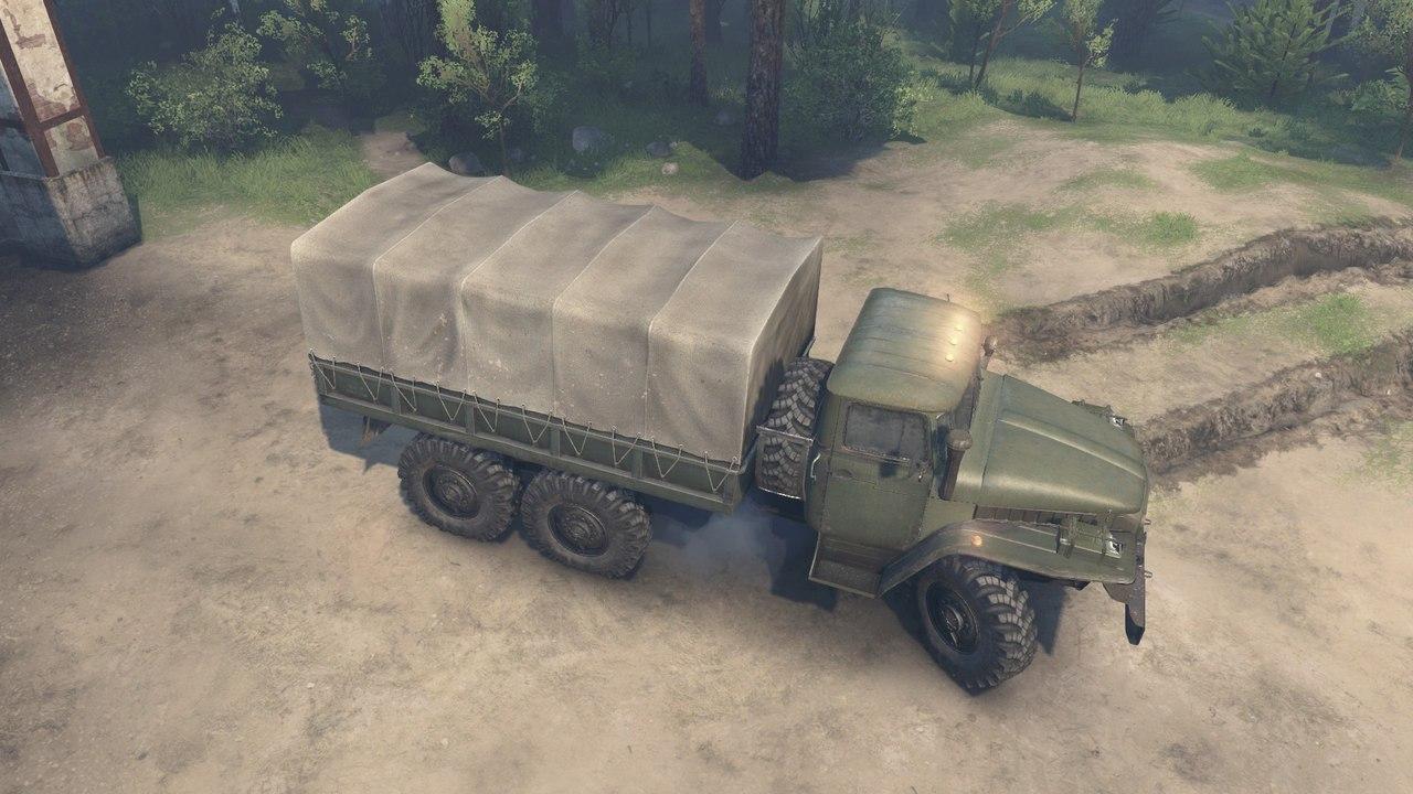 Урал 375 для Spintires - Скриншот 1