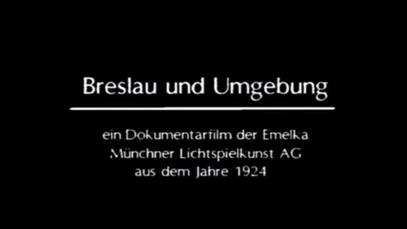 Breslau und Umgebung 1924