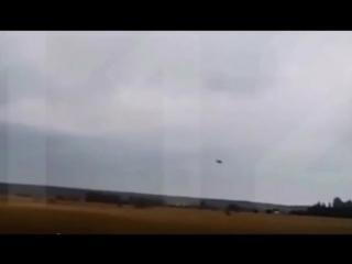 Крушение самолёта.