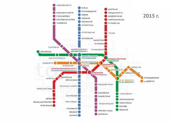 метрополитена в Москве на