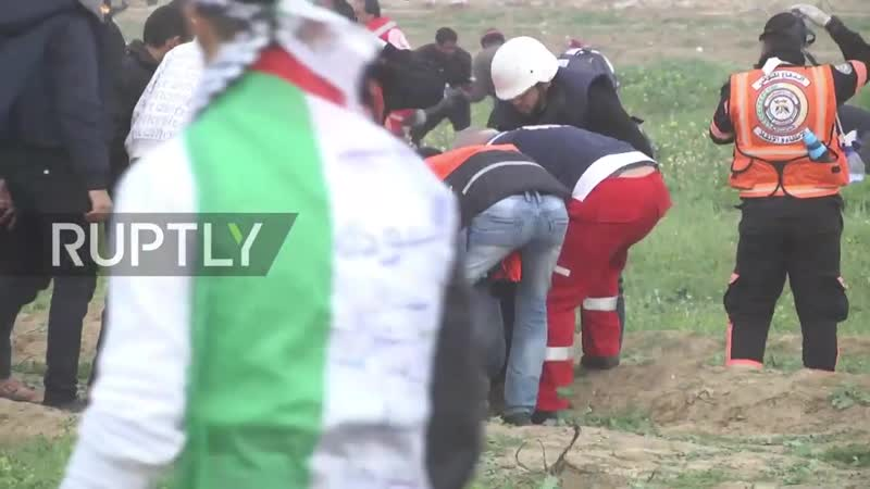 State of Palestine: Twenty injured after clashes on Israel-Gaza border - Health Ministry