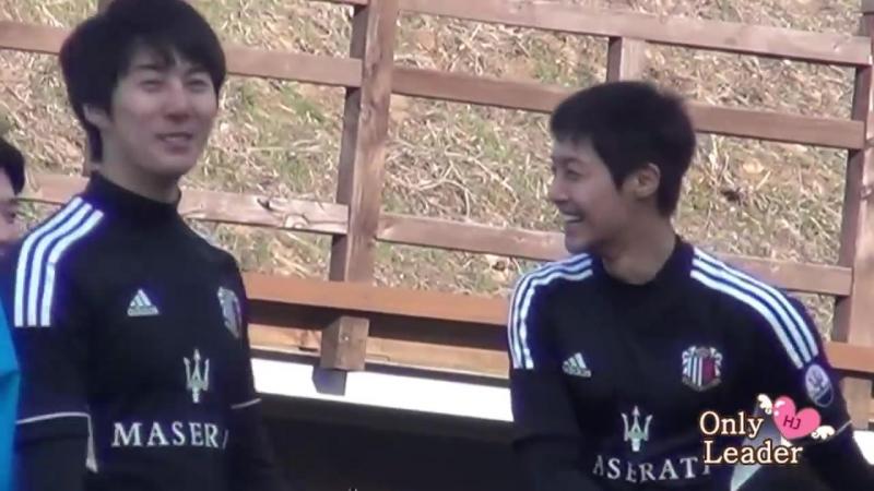 2013.03.31 Kim Hyun Joong fancam @ FC Avengers soccer match