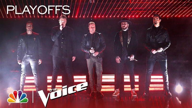 Backstreet Boys Sing Chances Live - The Voice 2018 Live Top 24 Eliminations