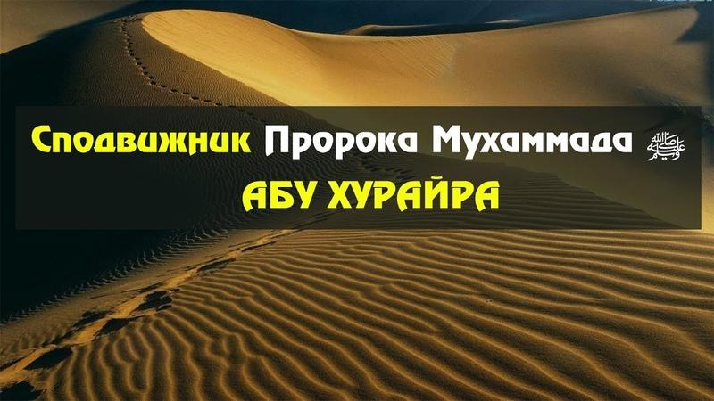 Сподвижник Пророка Мухаммада ﷺ Абу Хурайра. Шамиль Османов