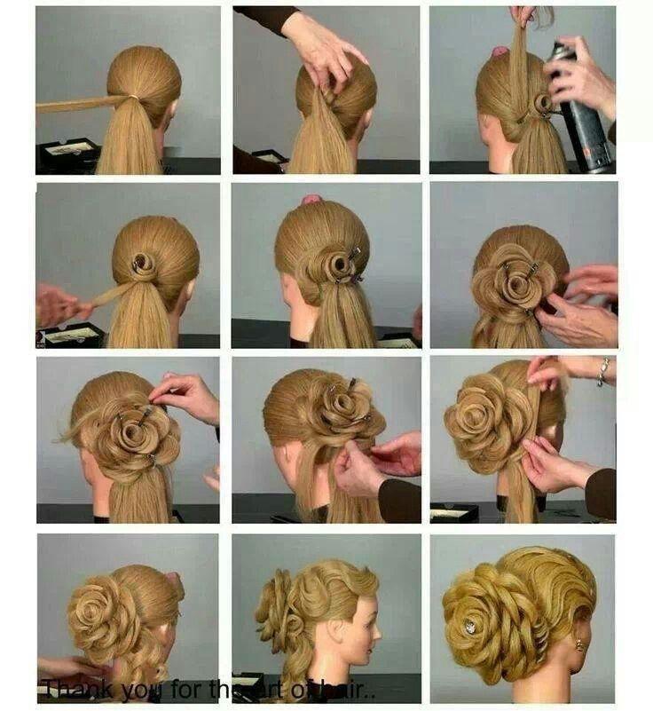 Видео уроки делать причёски - Красивые прически. Прически пошагово. Идеи ВКонтакте