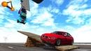 Tilting Deck High Jump Crashes 2