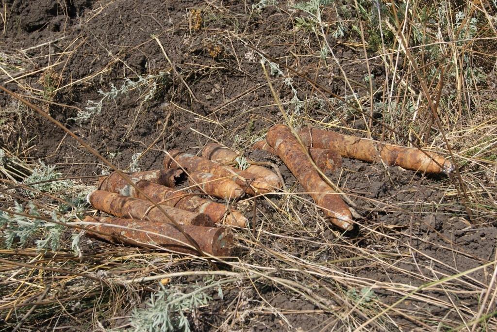 Под Таганрогом найдено 10 гранат