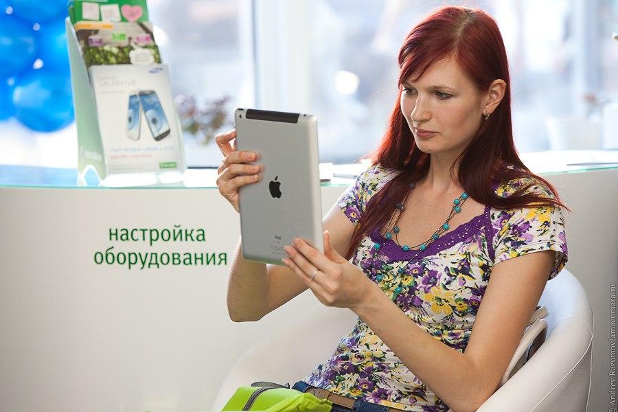 iphone в руках