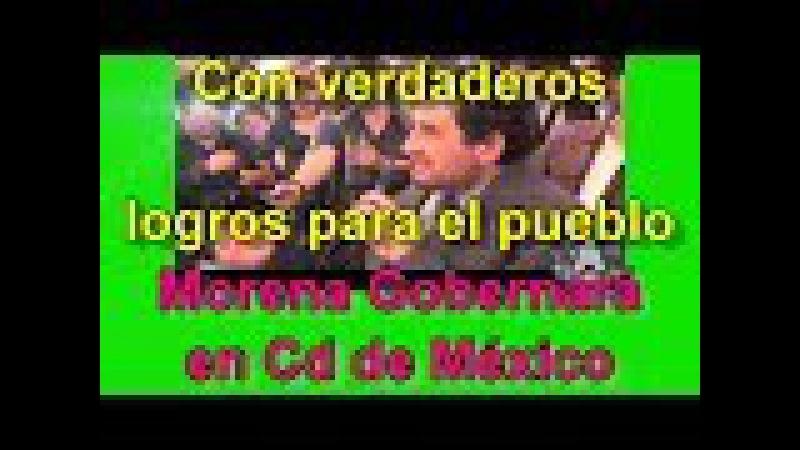 Morena Impide que Mancera Cobre(Predialazo) a los Ciudadanos..Morena Gobernara la Ciudad de México!!