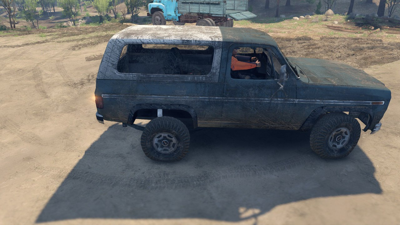 Ford Bronco для Spintires - Скриншот 2