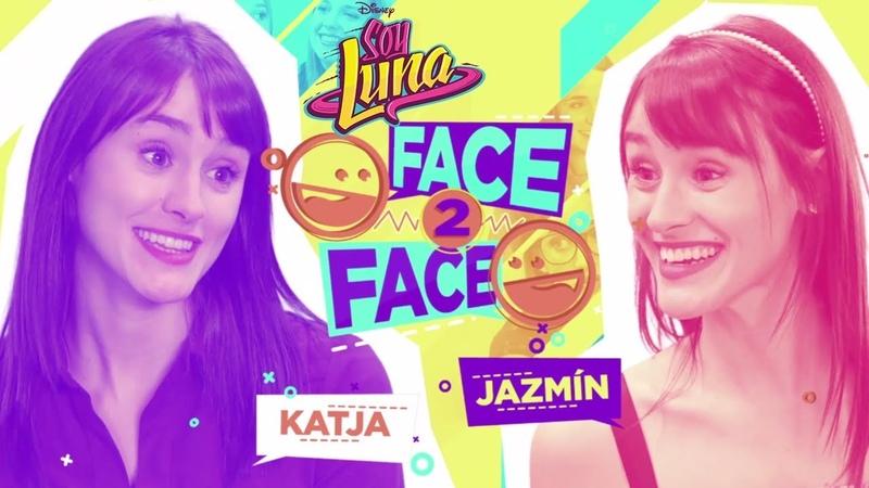 Katja Jazmín Face to Face | Soy Luna
