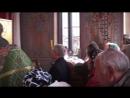 Отрывок из Чина заупокойной литии 7.06.2018, храм Св. Луки Крымского военного госпиталя, г. Рязань