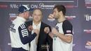 Bellator 208: Fedor vs. Sonnen Press Conference Staredowns