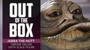 Unboxing Star Wars Jabba the Hutt Sixth Scale Figure - Sideshow Collectibles
