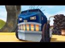 Мультики про машинки - ТРАКТАУН - Все серии про Биг Рига - Огромный 18-колесный гру ...