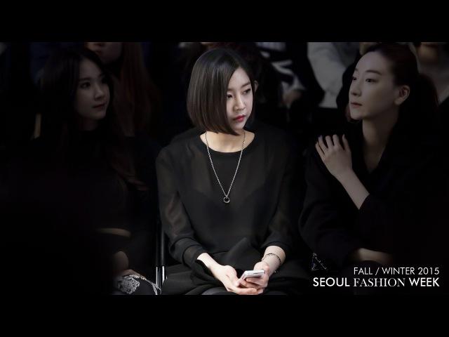 150324 Сеульская неделя моды Nine Muses Сона | 서울패션위크 ENZUVAN 나인뮤지스 성아 직캠