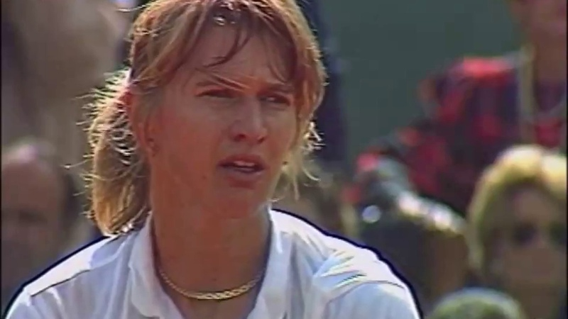 Arantxa Sanchez Vicario vs Steffi Graf 1989 RG Highlights