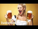 Traditional German folk music instrumental polka with antique classical folkloric accordion bail