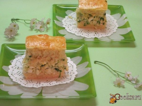 Пирог с яйцом, зеленый луком и отварным рисом Домашний сытный пирог. По этому рецепту я пеку пироги уже несколько лет.