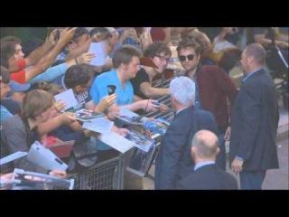 Промоушен фильма «Ровер» в Лондоне! [06.08.2014] Прибытие Роберта Паттинсона на Q&A [Вопрос-Ответ]