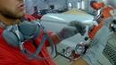 нанесение жидкой шпатли под давлением Sagola 3300 Lechler Adi upp