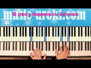 В лесу родилась ёлочка. Разучиваем новогоднюю песню на фортепиано!
