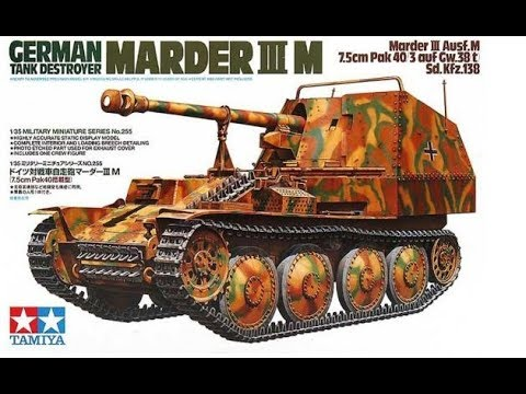 35255 Tamiya 1/35 German Tank Destroyer Marder III