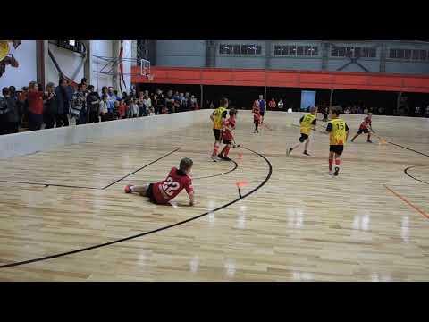 06 01 Floorball Cup Невская Дружина Пламя1 2 период