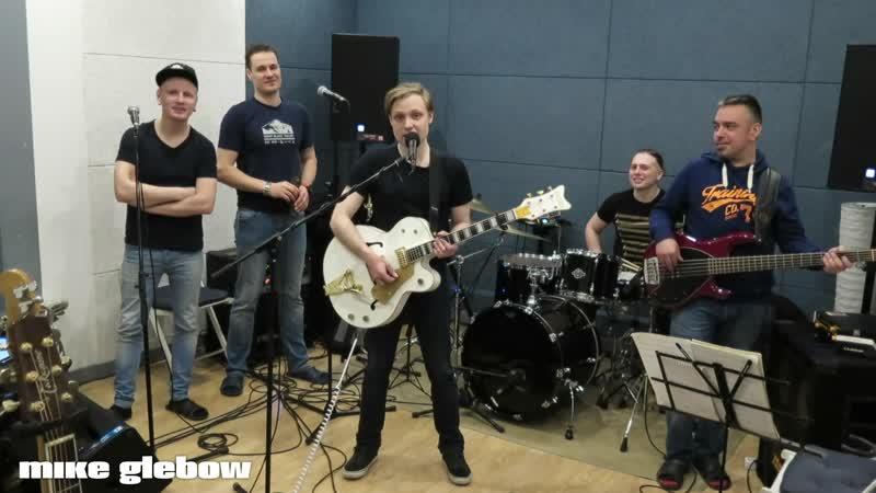 Mike Glebow.Band - Приглашение на концерт 1.04 в клуб 16 тонн