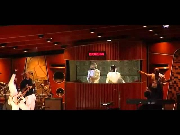 Daft Punk Pharrell Williams ft Stevie Wonder 2014 Grammys High Quality15
