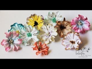 How To: Tutorial on Handmade Paper Gardenia Flowers