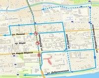 Завтра в Красноярске изменится схема движения транспорта.