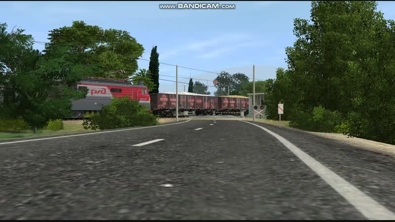 ВЛ10-1462 И ВЛ10-617 С грузовым поездом