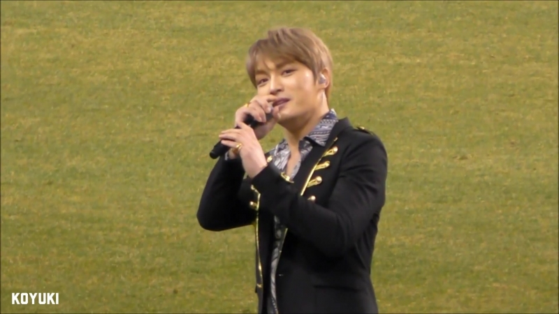 180223 JAEJOONG J League Opener ~Bouquet ceremony Halftime Show ♪Good Morning _Full-HD