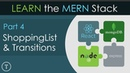 Learn The MERN Stack [4] - ShoppingList Component Transitions