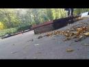 Рамзес skate - switch ollie on a grind box sw fs 180 25.09.2018