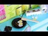 Как сделать сковороду с яичницей