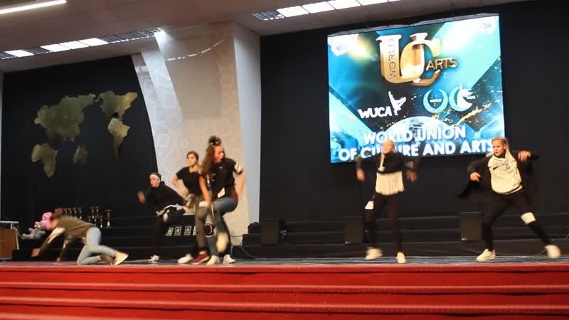Всеукраинские соревнования. г.Киев. Импровизация хип хоп. 1 место