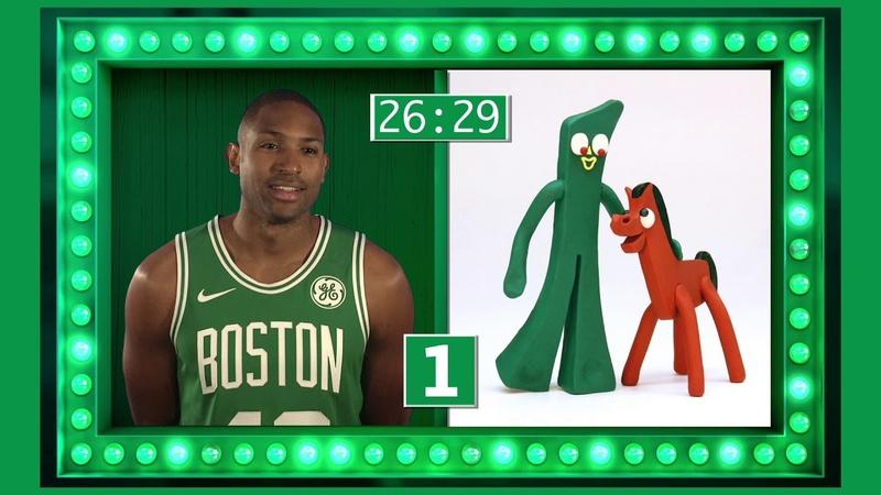 Celtics Showdown Marcus Smart vs Al Horford Naming Cartoons