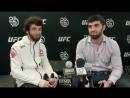 Интервью Забита после боя на UFC228 (2)