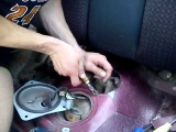 Замена топливного насоса  Mazda mx 6