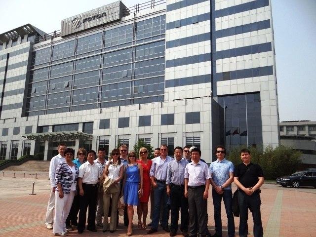 Посещение группой из России китайского производителя коммерческого автомобильного транспорта FOTON MOTOR | Ассоциация предпринимателей Китая