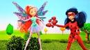 Мультик с куклами Леди Баг и Винкс. Видео для детей