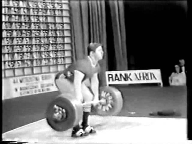 Viktor Solodov- weightlifting soldier from USSR