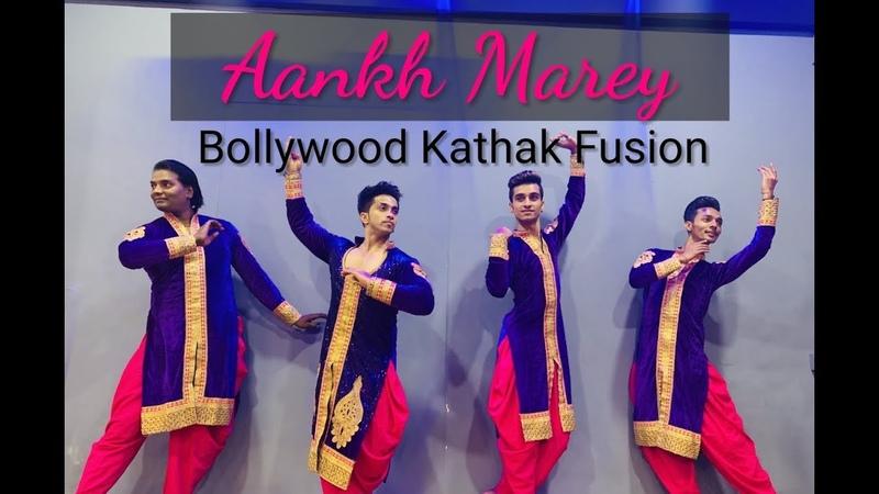 Aankh Marey   Bollywood KATHAK   Simmba   Kumar Sharma   Kalpita Kachroo   Kathak Rockers