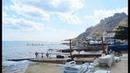 Пляж Эллингов в Коктебеле у Карадага фото Коллаж