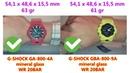 Casio G-Shock G-SQUAD GBA-800-9A STEP TRACKER VS Casio G-Shock GA-800-4A