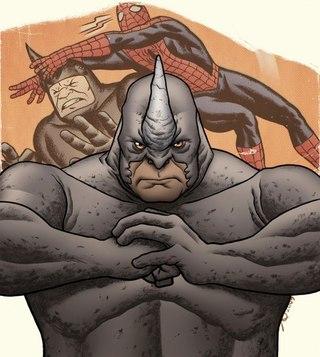 По сюжету Носорога сперва нанимают в качестве телохранителя Спайдермена, но тот предает Паука и объединяется с...