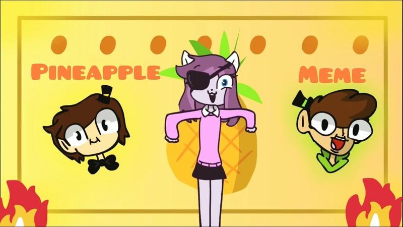 Pineapple meme (for Muzy Frile )🍍
